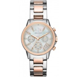 Kaufen Sie Armani Exchange Damenuhr Lady Banks AX4331 Chronograph
