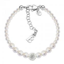 Kaufen Sie Boccadamo Damenarmband Perle BR366 Swarovski