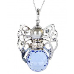 Kaufen Sie Boccadamo Damenhalskette Kerubina KUGR01 Swarovski Engel