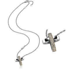 Kaufen Sie Breil Damenhalskette Charming Cross TJ1461 Kreuz