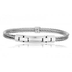 Breil Herrenarmband Cable TJ1827