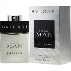 Bulgari Man Extreme Herrenparfüm Eau de Toilette EDT Vapo 60 ml