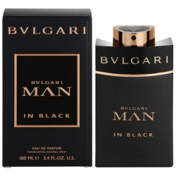 Bulgari Man in Black Herrenparfüm Eau de Parfum EDP Vapo 100 ml