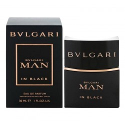 Bulgari Man in Black Herrenparfüm Eau de Parfum EDP Vapo 30 ml