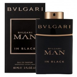 Bulgari Man in Black Herrenparfüm Eau de Parfum EDP Vapo 60 ml