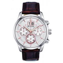 Bulova Herrenuhr Sutton Classic 96B309 Quarz Chronograph