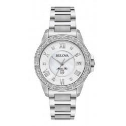 Kaufen Sie Bulova Damenuhr Marine Star 96R232 Diamanten Perlmutt Quartz