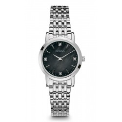 Kaufen Sie Bulova Damenuhr Diamonds 96S148 Diamanten Perlmutt Quartz