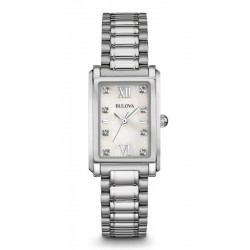 Kaufen Sie Bulova Damenuhr Diamonds 96S157 Diamanten Perlmutt Quartz