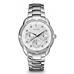 Kaufen Sie Bulova Damenuhr Diamonds 96S152 Diamanten Quartz