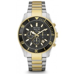 Kaufen Sie Bulova Herrenuhr Marine Star 98B249 Quarz Chronograph