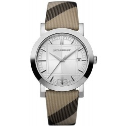 Burberry Unisexuhr The City Nova Check BU1390