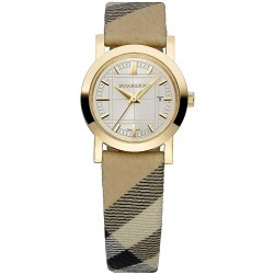 Kaufen Sie Burberry Damenuhr The City Nova Check BU1399
