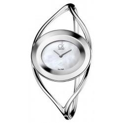 Calvin Klein Damenuhr Delight Small K1A2351G Perlmutt