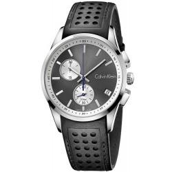 Kaufen Sie Calvin Klein Herrenuhr Bold K5A371C3 Chronograph
