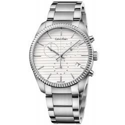 Kaufen Sie Calvin Klein Herrenuhr Alliance K5R37146 Chronograph