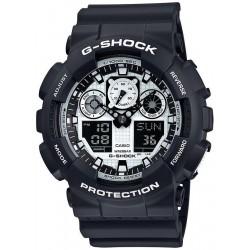 Kaufen Sie Casio G-Shock Herrenuhr GA-100BW-1AER Multifunktions Ana-Digi