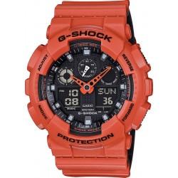 Kaufen Sie Casio G-Shock Herrenuhr GA-100L-4AER Multifunktions Ana-Digi