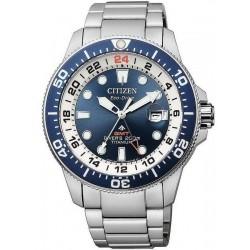 Citizen Herrenuhr Promaster Diver's Eco-Drive Super Titan GMT BJ7111-86L