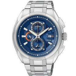 Citizen Herrenuhr Super Titanium Chrono Eco-Drive CA0200-54L