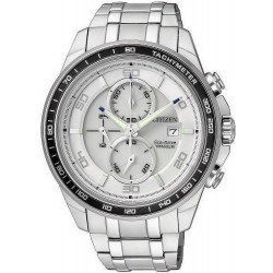 Citizen Herrenuhr Super Titanium Chrono Eco-Drive CA0340-55A