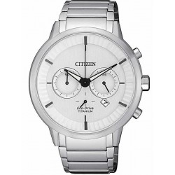 Citizen Herrenuhr Super Titanium Chrono Eco-Drive CA4400-88A