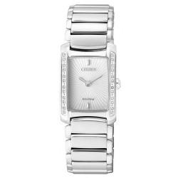 Citizen Damenuhr Elegant Eco-Drive EG2961-54A Diamanten