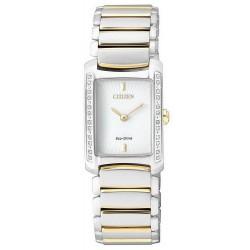 Kaufen Sie Citizen Damenuhr Elegant Eco-Drive EG2965-53A Diamanten