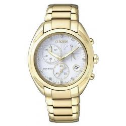 Kaufen Sie Citizen Damenuhr Elegant Chrono Eco-Drive FB1396-57A Diamanten