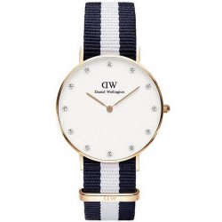 Daniel Wellington Damenuhr Classic Glasgow 34MM DW00100078