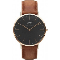 Daniel Wellington Herrenuhr Classic Black Durham 40MM DW00100126