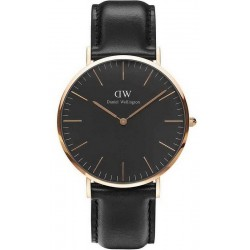 Daniel Wellington Herrenuhr Classic Black Sheffield 40MM DW00100127