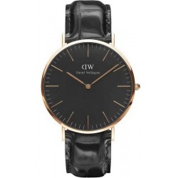 Daniel Wellington Herrenuhr Classic Black Reading 40MM DW00100129