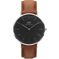Daniel Wellington Herrenuhr Classic Black Durham 40MM DW00100132