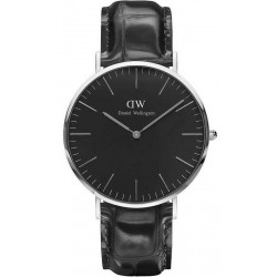 Daniel Wellington Herrenuhr Classic Black Reading 40MM DW00100135
