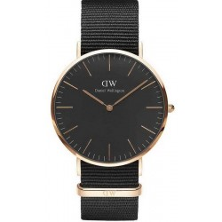 Daniel Wellington Herrenuhr Classic Black Cornwall 40MM DW00100148