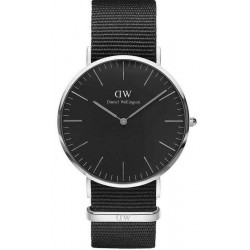 Daniel Wellington Herrenuhr Classic Black Cornwall 40MM DW00100149