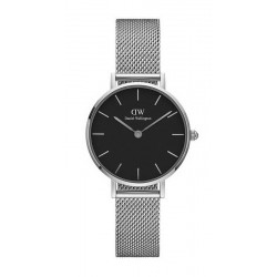 Daniel Wellington Damenuhr Classic Petite Sterling 28MM DW00100218