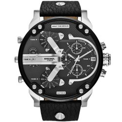 Diesel Herrenuhr Mr. Daddy DZ7313 Chronograph 4 Zeitzonen