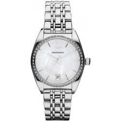Kaufen Sie Emporio Armani Damenuhr Franco AR0379 Perlmutt