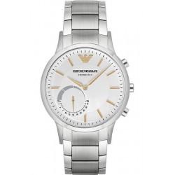 Kaufen Sie Emporio Armani Connected Herrenuhr Renato ART3005 Hybrid Smartwatch