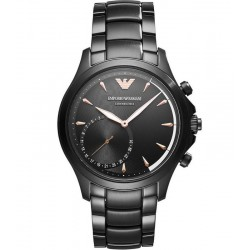 Kaufen Sie Emporio Armani Connected Herrenuhr Alberto ART3012 Hybrid Smartwatch