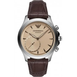 Kaufen Sie Emporio Armani Connected Herrenuhr Alberto ART3014 Hybrid Smartwatch