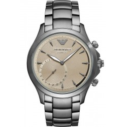 Kaufen Sie Emporio Armani Connected Herrenuhr Alberto ART3017 Hybrid Smartwatch