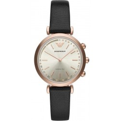 Kaufen Sie Emporio Armani Connected Damenuhr Gianni T-Bar ART3027 Hybrid Smartwatch