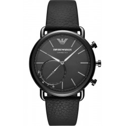 Kaufen Sie Emporio Armani Connected Herrenuhr Aviator ART3030 Hybrid Smartwatch