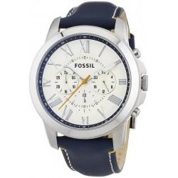 Kaufen Sie Fossil Herrenuhr Grant FS4925 Quarz Chronograph