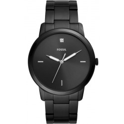 Fossil Herrenuhr The Minimalist 3H FS5455 Quartz