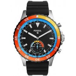 Kaufen Sie Fossil Q Herrenuhr Crewmaster FTW1124 Hybrid Smartwatch