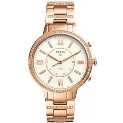 Kaufen Sie Fossil Q Damenuhr Virginia FTW5010 Hybrid Smartwatch